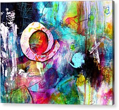 Acrylic Print featuring the painting Jaunt by Katie Black