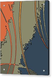 Java-i Acrylic Print by Charles Rayburn