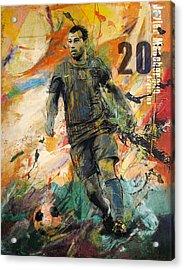 Javier Mascherano Acrylic Print