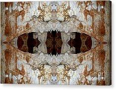 Jaw's Cave Acrylic Print by John Johnson