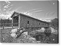 Jay Covered Bridge Acrylic Print