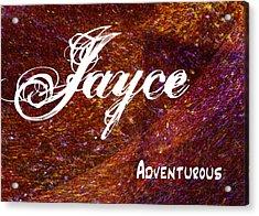 Jayce - Adventurous Acrylic Print by Christopher Gaston