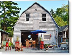 The Old Barn At Jaynes Reliable Antiques And Vintage Acrylic Print