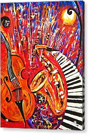 Jazz And The City 2 Acrylic Print