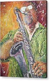 Jazz Bliss Acrylic Print