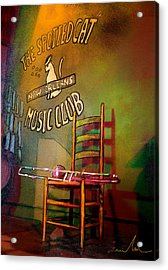 Jazz Break In New Orleans Acrylic Print
