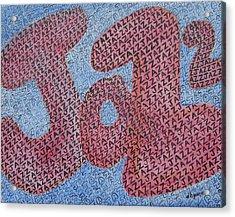 Jazz Acrylic Print by Diane Pape