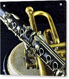 Acrylic Print featuring the photograph Jazz by Elf Evans