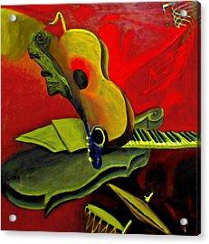 Jazz Infusion Acrylic Print