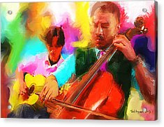 Jazz It Up  Acrylic Print by Ted Azriel
