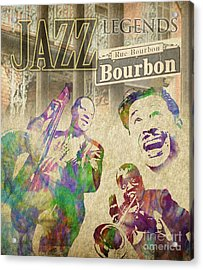 Jazz Legends Acrylic Print