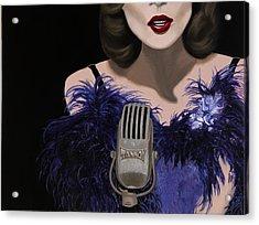 Jazz Acrylic Print by Marcella Lassen