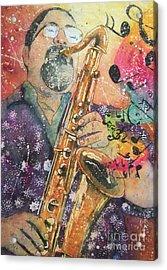 Jazz Master Acrylic Print