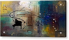 Jazz Night Acrylic Print by Carmen Guedez