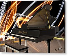 Jazz Piano Bar Acrylic Print