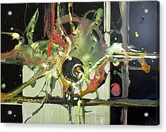 Jazz Rhythms Acrylic Print by Patricia Mayhew Hamm