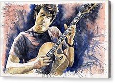 Jazz Rock John Mayer 06 Acrylic Print