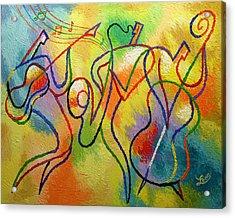 Jazzband 21 Acrylic Print