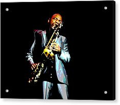 Jazzman Acrylic Print