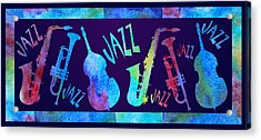 Jazzy Combo Acrylic Print