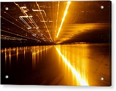 Jazzy Light Acrylic Print by Rajiv Chopra