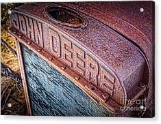 Jd Grille Acrylic Print by Inge Johnsson