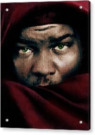 Jealous Othello Acrylic Print by Georgiana Romanovna