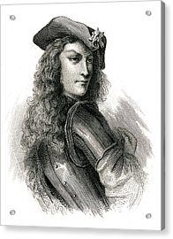 Jean Cavalier  French Insurgent, Leader Acrylic Print by Mary Evans Picture Library
