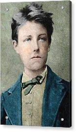 Jean Nicolas Arthur Rimbaud Portrait Acrylic Print