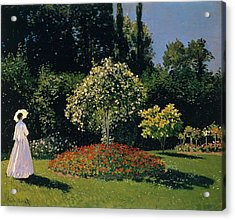Jeanne-marguerite Lecadre In The Garden Sainte-adresse Acrylic Print