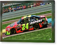 Jeff Gordon Acrylic Print