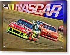 Jeff Gordon-nascar Race Acrylic Print
