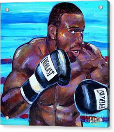 Acrylic Print featuring the painting Jeff Lacy by Robert Phelps