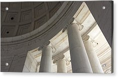 Jefferson Memorial Architecture Acrylic Print