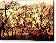 Jefferson Memorial - Washington Dc - 01135 Acrylic Print by DC Photographer