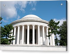Jefferson Memorial, Washington, Dc Acrylic Print by Lee Foster
