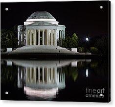 Jefferson Reflections Acrylic Print