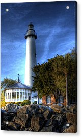 Jekyll Island Lighthouse Acrylic Print