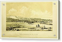 Jelalabad, Narrative Of Various Journeys In Balochistan Acrylic Print by Litz Collection