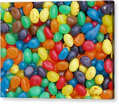Acrylic Print featuring the digital art Jelly Beans by Ron Harpham