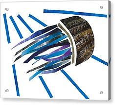 Jellyfish Acrylic Print by Earl ContehMorgan