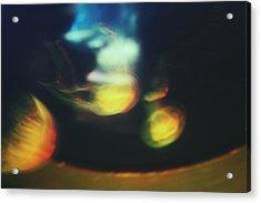 Jellyfish Ultrasound Acrylic Print by Claudia Avila