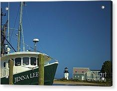 Jenna Lee Acrylic Print by Amazing Jules