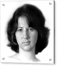 Jennifer Acrylic Print by Dennis James