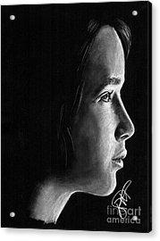 Jennifer Lawrence Acrylic Print