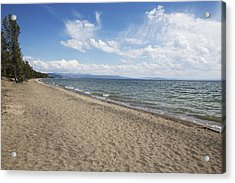 Yellowstone Lake Acrylic Print by Belinda Greb