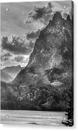 Acrylic Print featuring the photograph Jenny Lake In Shadow by Jeremy Farnsworth