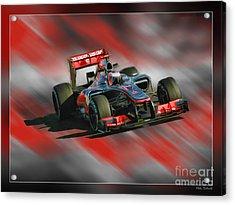 Jenson Button  Acrylic Print