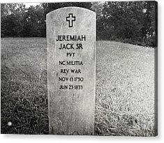 Jeremiah Jack Sr Acrylic Print by Steven  Michael