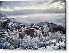 Jerome After Icy Snow Storm Acrylic Print